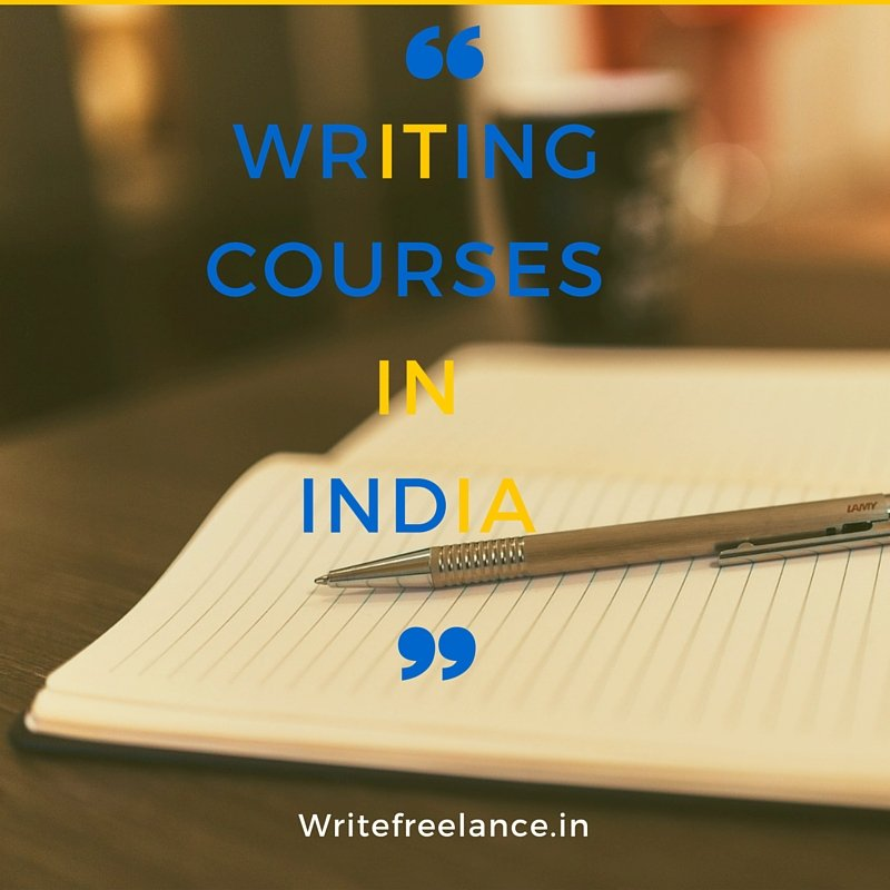 Writing courses in India
