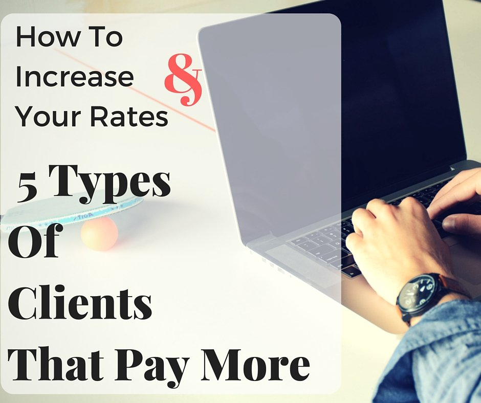 How To Increase Your Rates