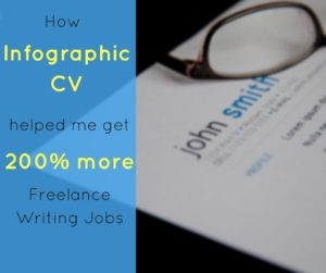 This article is about how infographic CV helped me get 200% more freelance writing jobs. Being a freelance content writer is tough, that is why you always have to find an edge
