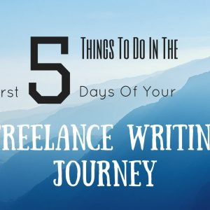 Freelance Writing might seem all easy from a distance but the most important part is to create a potential in your first few months