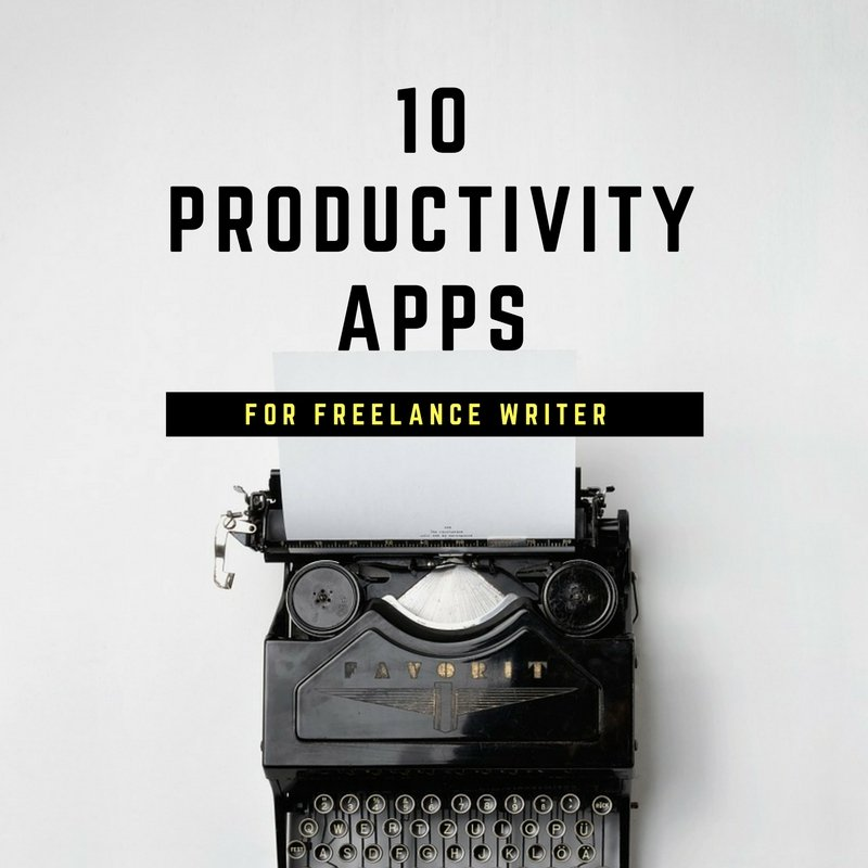 Productivity is very important for freelance writers, after all we don't know what might come our way. I am a freelance writer in India, and today I am sharing all my favourite productivity apps for writing