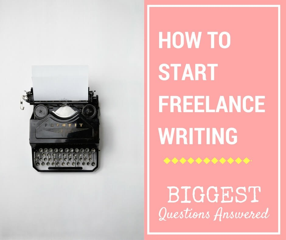 This blog answers the five biggest questions about freelance writing that a new freelance content writer might have