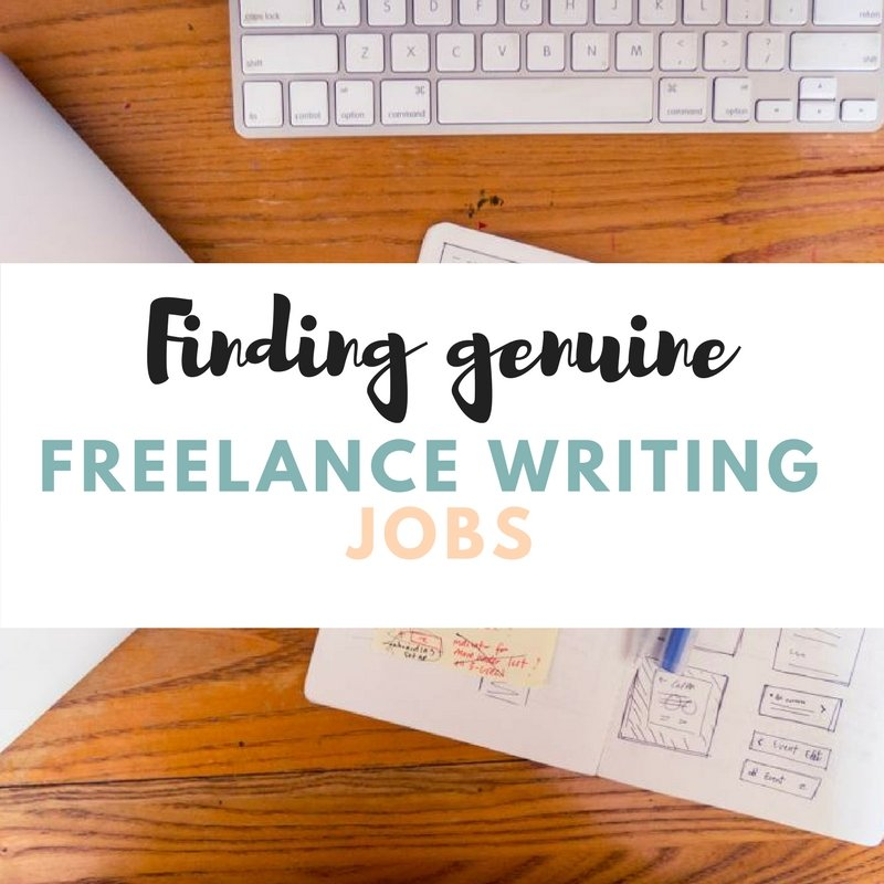 How to find genuine freelance writing jobs online