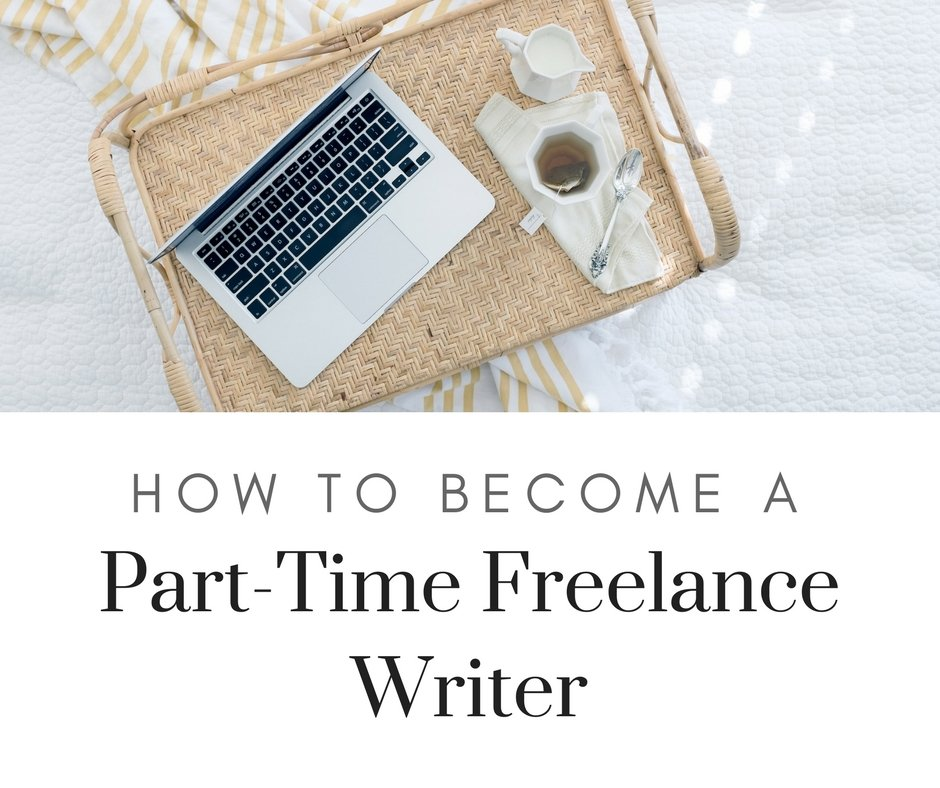 Starting out as a part-time freelance content writer means you will still getting paid from your day job and there isn't much to lose. Here's how to do it