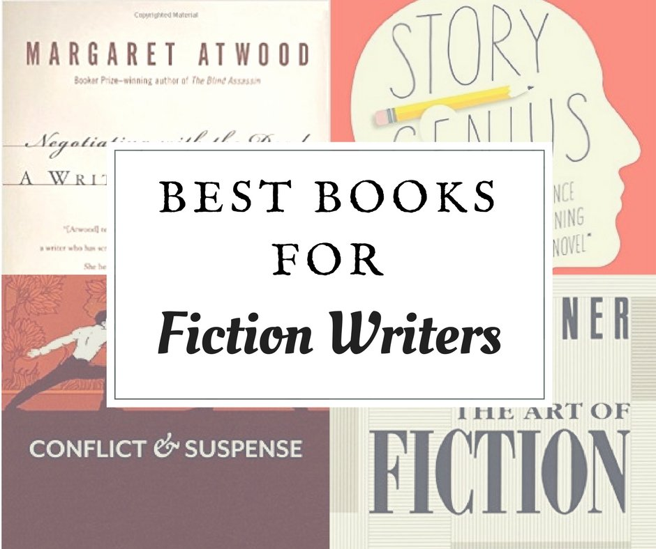 The best books for fiction writers to help you get out of the writer's block and create a stunning and well structured book.