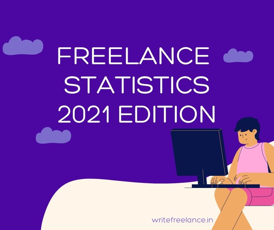 Freelance jobs have increased tremendously in the past year. Take a look at these freelance statistics to understand why: